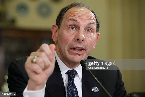 S Veterans Affairs Secretary Robert McDonald testifies before the House Veterans' Affairs Committee about the Office of Inspector General's final...