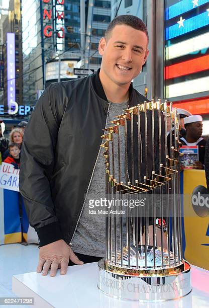 AMERICA Veteran's Day is celebrated on GOOD MORNING AMERICA 11/11/16 airing on the ABC Television Network ANTHONY RIZZO of the Chicago Cubs brings...