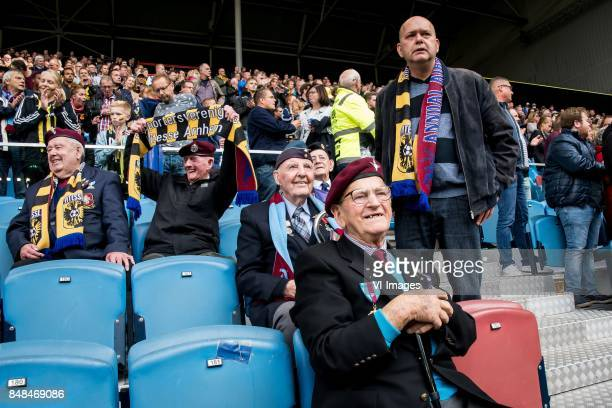veterans during the Dutch Eredivisie match between Vitesse Arnhem and VVV Venlo at Gelredome on September 17 2017 in Arnhem The Netherlands