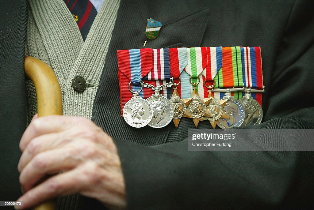WWII Veterans Hold Service Ahead Of DDay Anniversary