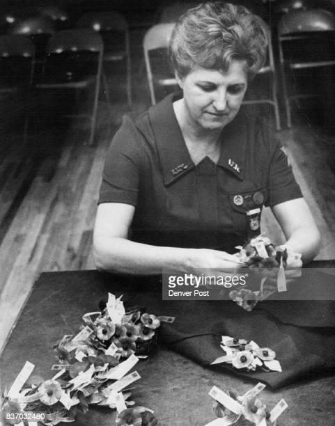 Veterans of Foreign Wars Miss Dorothy Travinek Credit Denver Post