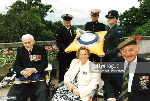 Veterans with current members of the three armed services launch a new time capsule project designed to safeguard a record of military life in the...