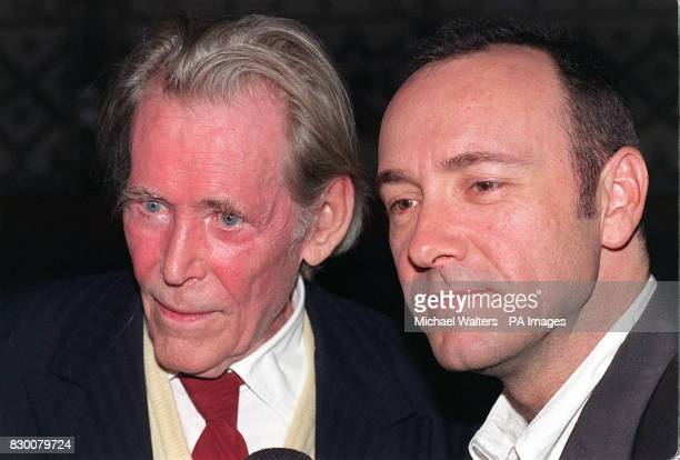 Veteren actor Peter O'Toole and Kevin Spacey attend the relaunch of The Old Vic Theatre in London tonight Film actor Kevin Spacey is the Director of...