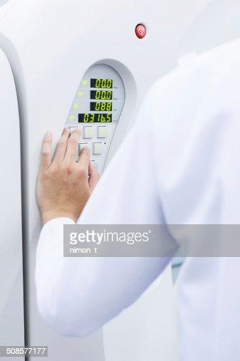 veterinarian doctor working : Stock Photo