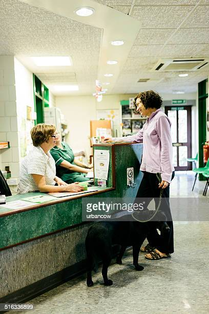 Veterinary Hospital reception