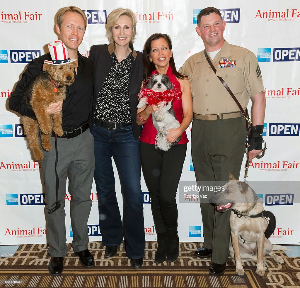 Jane Lynch Hosts AnimalFair.com's Bark Business Tour Benefit For K9s For Warriors