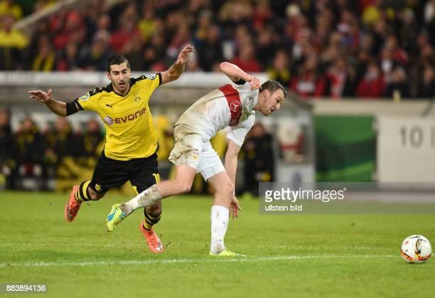 FUSSBALL VfB Stuttgart Borussia Dortmund Henrikh Mkhitaryan gegen Kevin Grosskreutz