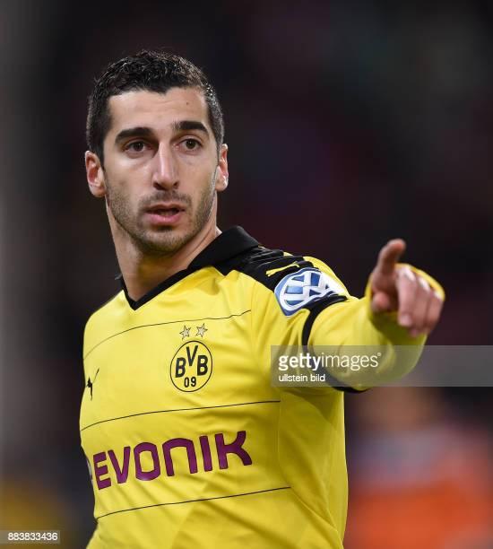 FUSSBALL VfB Stuttgart Borussia Dortmund Henrikh Mkhitaryan