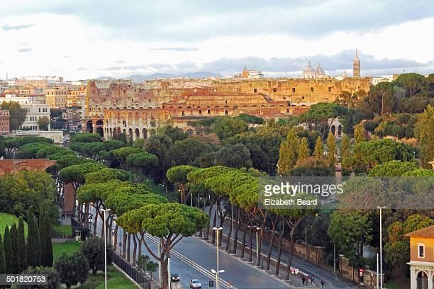 Via di San Greggorio and Colosseum, Rome