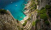 Via Krupp on Capri island, Italy