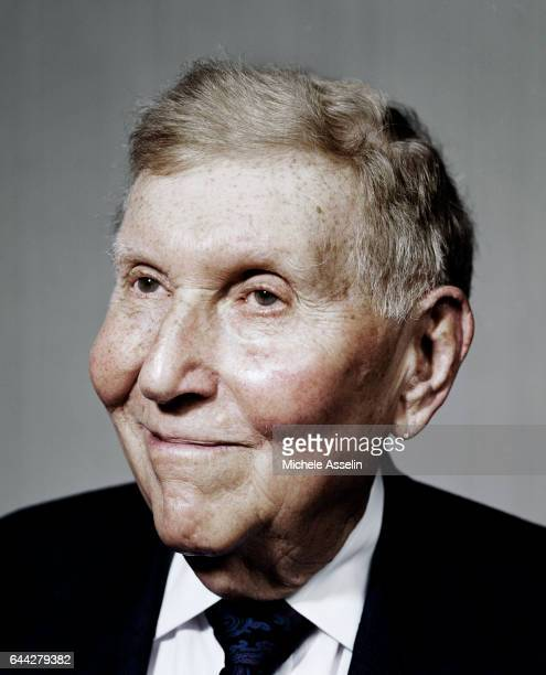 Viacom Chairman and CEO Sumner Redstone is photographed at a portrait session on April 2 2004 in New York City