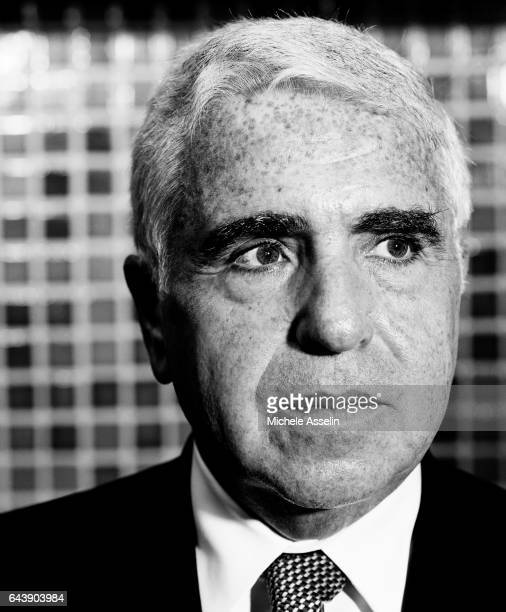 Viacom President and COO Mel Karmazin is photographed on October 30 2003 in New York City