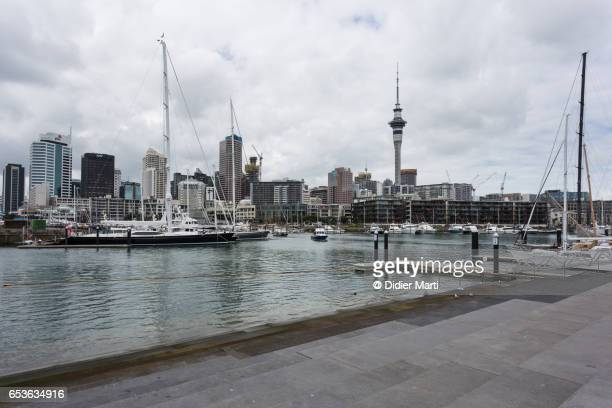Viaduct harbour in New Zealand waterfront, New Zealand