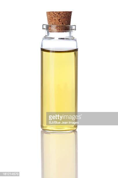 A vial of essential oil