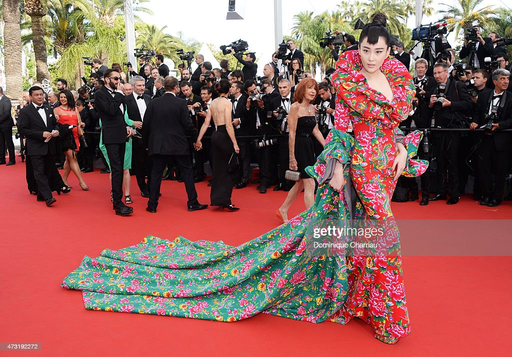 Viann Zhang attends the opening ceremony and premiere of 'La Tete Haute ('Standing Tall') during the 68th annual Cannes Film Festival on May 13, 2015 in Cannes, France.