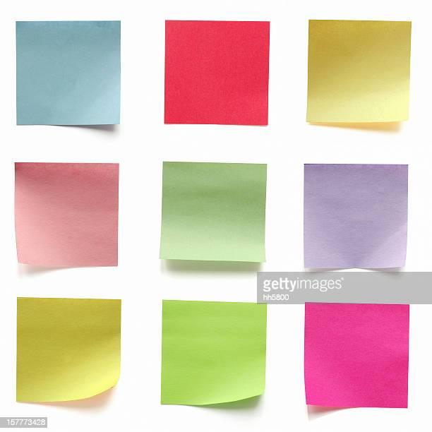 Colore brillante Biglietto adesivo, forniture per ufficio, etichette, Tag, promemoria, la Pad,