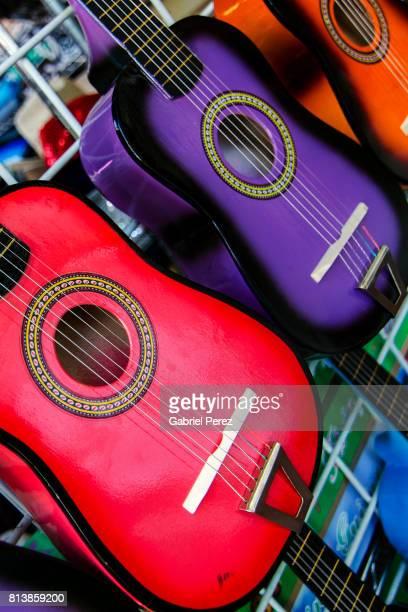 Vibrant Spanish Guitars