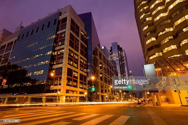 Vibrant Street in Toronto, Canada