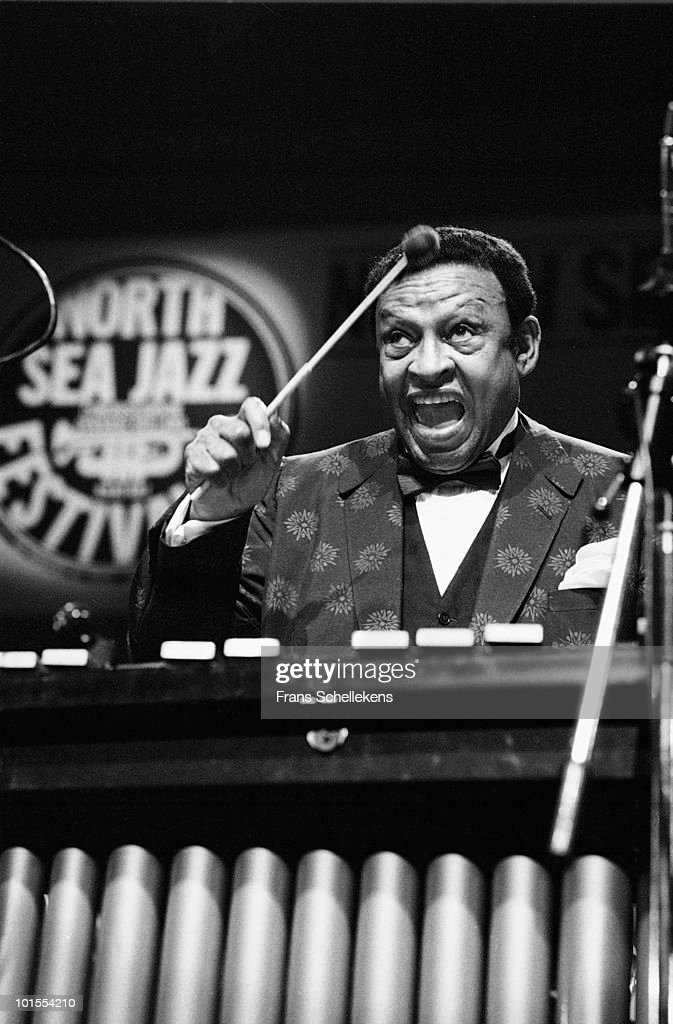 Vibraphone player Lionel Hampton performs live on stage at the North Sea Jazz Festival in The Hague, Netherlands on July 10 1983