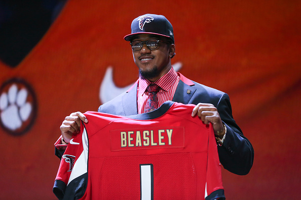 nfl Atlanta Falcons Vic Beasley WOMEN Jerseys