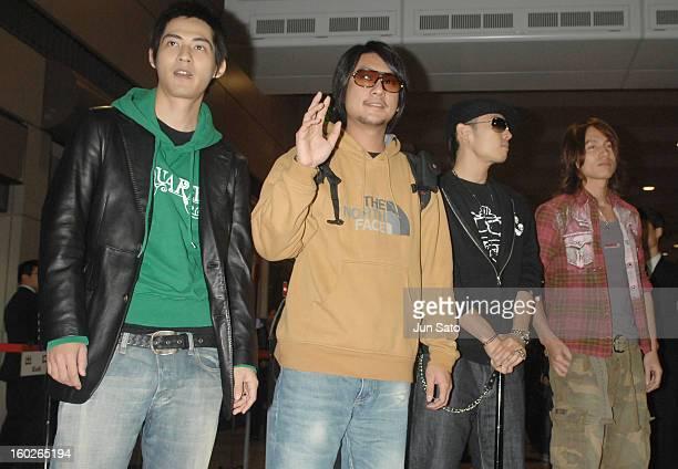 Vic Chou Ken Chu Van Ness Wu and Jerry Yan of F4