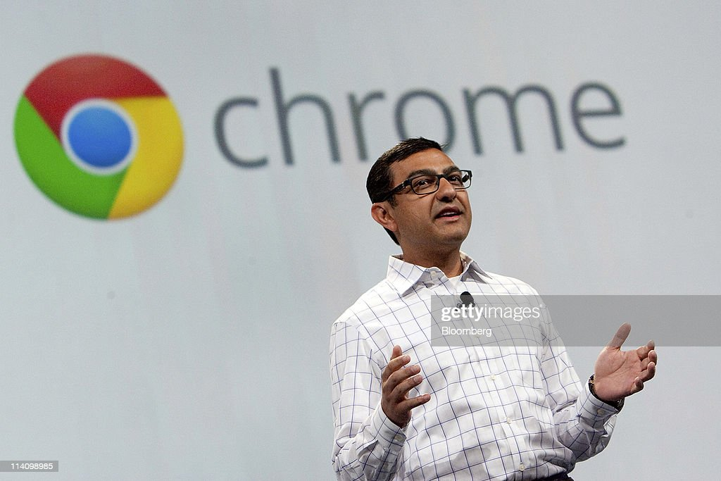 Vic Gundotra, senior vice president of social intiatives at Google Inc., speaks during a keynote address at the Google I/O conference in San Francisco, California, U.S., on Wednesday, May 11, 2011. Google Inc.'s new Chromebook line of laptops, manufactured by Samsung Electronics Co. and Acer Inc., will go on sale next month, furthering the company's push into computer hardware. Photographer: David Paul Morris/Bloomberg via Getty Images