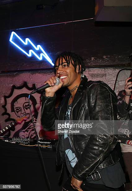 Vic Mensa at Dream Hotel on June 3 2016 in New York City