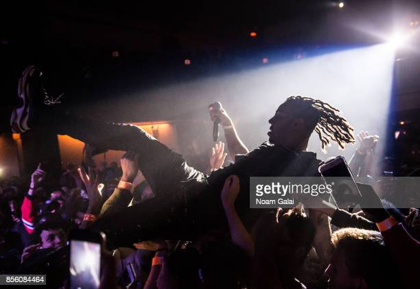 Vic Mensa performs in concert at The Bowery Ballroom on September 30 2017 in New York City