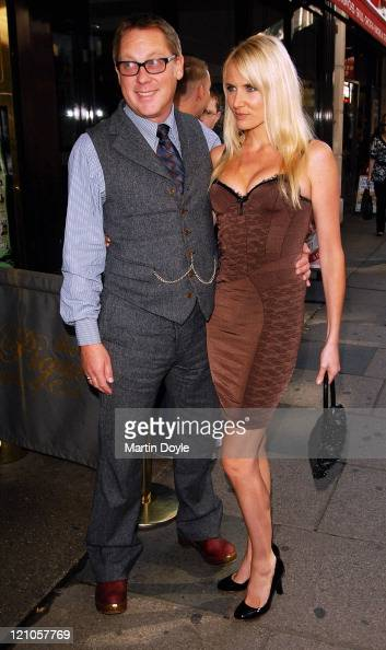 Vic Reeves and Nancy Sorrell arrive at the Loaded Lafta Comedy Awards on October 4 2007 in London England