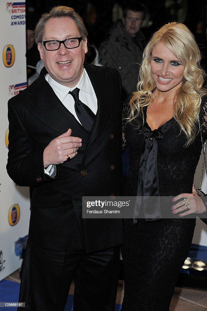 Vic Reeves and Nancy Sorrell attend British Comedy Awards at Indigo at O2 Arena on January 22 2011 in London England