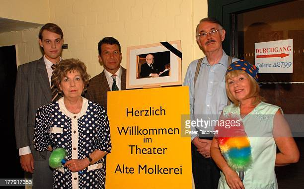 Vicco von Bülow alias Loriot Ingrid Waldau Martina Rüggebrecht Stefan Marks Karsten Engelhardt Jörg Schlichtkrull Trauer um Vicco von Bülow vor...