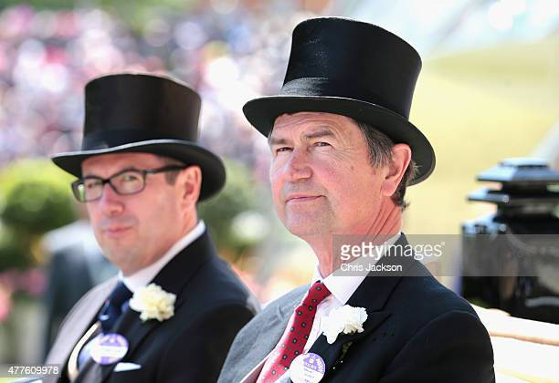Vice Admiral Sir Timothy Laurence attends Ladies Day on day 3 of Royal Ascot at Ascot Racecourse on June 18 2015 in Ascot England