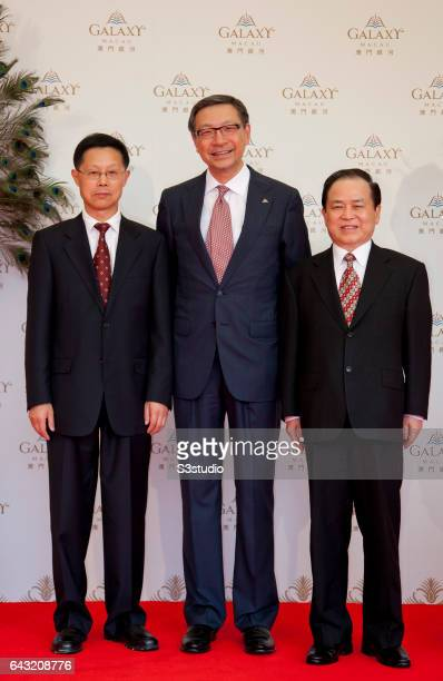 Vice Chairman of Galaxy Entertainment Group Francis Lui Yiu Tung on the day of the Galaxy Macau Grand Opening on Sunday May 15 2011