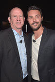 Vice Chairman of Paramount Pictures Rob Moore and actor Jack Huston attend the CinemaCon 2016 Gala Opening Night Event Paramount Pictures Highlights...