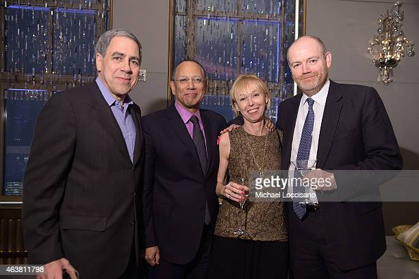 Vice Chairman of The New York Times Company Michael Golden executive editor of The New York Times Dean Baquet Dylan Landis and CEO of The New York...
