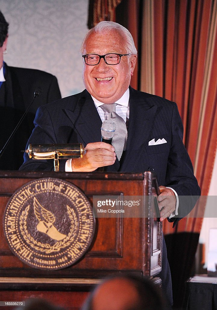 Vice Chairman of the Structure Tone organization, Joseph Coppotelli speaks at the Table 4 Writers Foundation 1st Annual Awards Gala on March 7, 2013 in New York City.