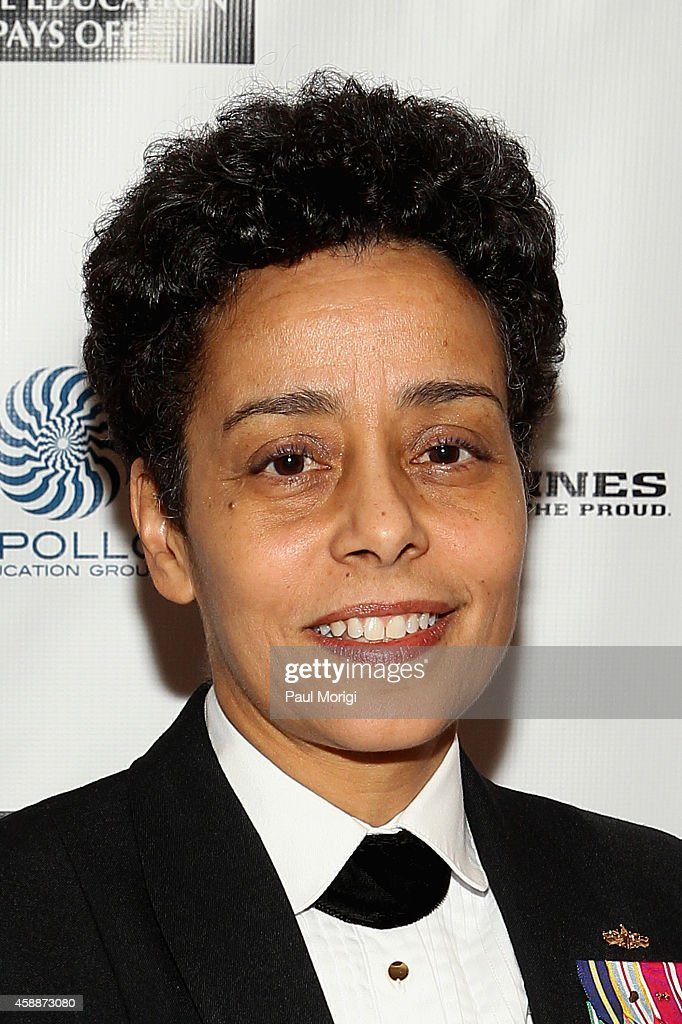 Vice Chief of Naval Operations US Navy Admiral Michelle Howard attends the Thurgood Marshall College Fund 26th Awards Gala at Washington Hilton on...