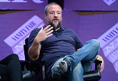 """Vice CoFounder Shane Smith speaks onstage during '""""Missing Ink The New Journalism"""" at the Vanity Fair New Establishment Summit at Yerba Buena Center..."""