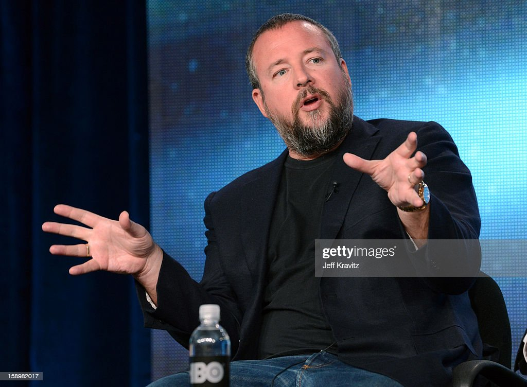 Vice Founder Shane Smith speaks about the new HBO series 'Vice' during the HBO Winter 2013 TCA Panel at The Langham Huntington Hotel and Spa on January 4, 2013 in Pasadena, California.
