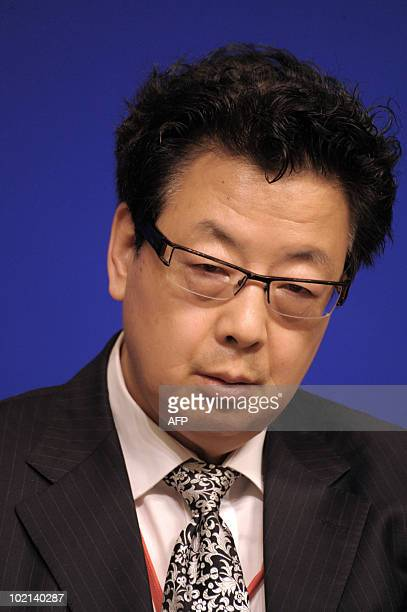 Vice Governor of China Development Bank Gao Jian is seen on June 16 2010 in Paris at the symposium 'Europe/China Facing our common challenges'...