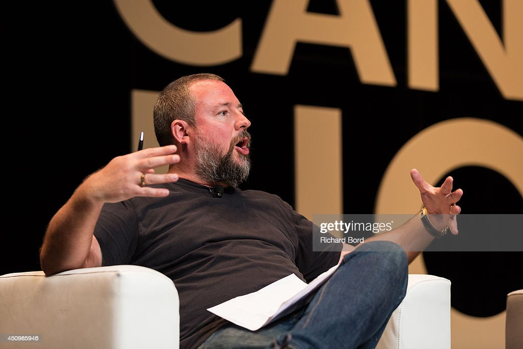 Vice Media CEO Shane Smith attends the 'Bono and Jonathan Ive Seminar' during the 2014 Cannes Lions Festival on June 21, 2014 in Cannes, France.
