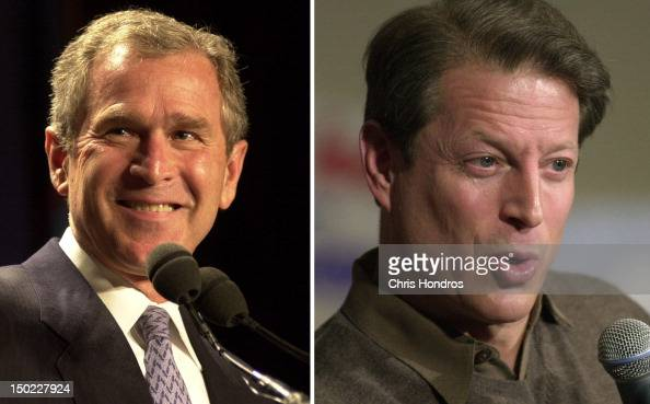 "an analysis and a comparison of george w bush and al gore Are no different than democratic nominee al gore gore said, ""i spoke with george w bush and w bush, left, and the supporters of al gore."