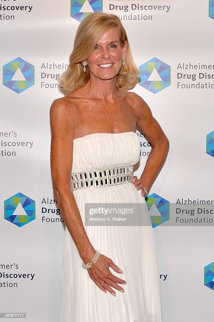 Vice President and Chief Philanthropy Officer of ADDF Nancy Sanford attends Alzheimer's Drug Discovery Foundation eighth Annual Connoisseur's Dinner at Sotheby's on May 1, 2014 in New York City.