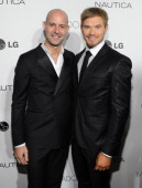 Vice President and Publisher of GQ Chris Mitchell and actor Kellan Lutz attend the 2012 GQ Gentlemen's Ball presented by LG Movado and Nautica on...