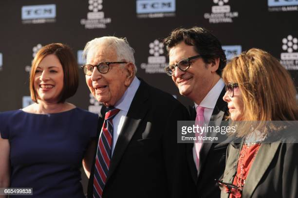 Vice President Brand Activations/Partnerships Turner Classic Movies Genevieve McGillicuddy producer Walter Mirisch tv personality Ben Mankiewicz and...