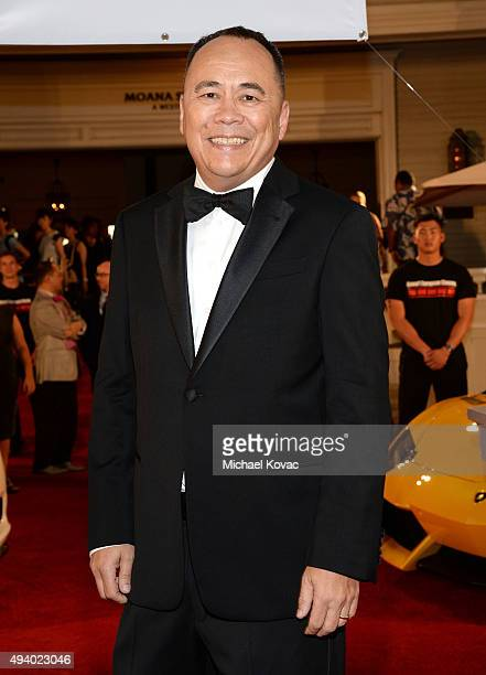Vice President Chris Lee attends the 6th Annual Hawaii European Cinema Film Festival Awards Gala at The Moana Surfrider on October 23 2015 in Waikiki...