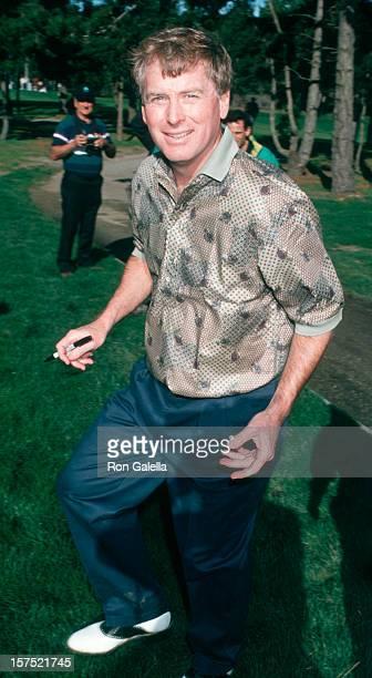 Vice President Dan Quayle attending 'ATT Pebble Beach National ProAm Golf Tournament' on February 3 1995 at Pebble Beach in Carmel California
