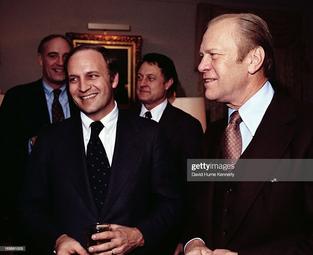 Vice President <a gi-track='captionPersonalityLinkClicked' href=/galleries/search?phrase=Dick+Cheney&family=editorial&specificpeople=125149 ng-click='$event.stopPropagation()'>Dick Cheney</a> photographed from 1975 to 2006 in Washington, DC. Pictured is <a gi-track='captionPersonalityLinkClicked' href=/galleries/search?phrase=Dick+Cheney&family=editorial&specificpeople=125149 ng-click='$event.stopPropagation()'>Dick Cheney</a> with President <a gi-track='captionPersonalityLinkClicked' href=/galleries/search?phrase=Gerald+Ford&family=editorial&specificpeople=125222 ng-click='$event.stopPropagation()'>Gerald Ford</a>.