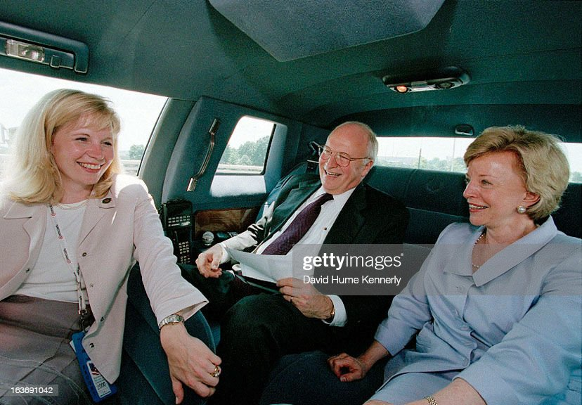 Vice President <a gi-track='captionPersonalityLinkClicked' href=/galleries/search?phrase=Dick+Cheney&family=editorial&specificpeople=125149 ng-click='$event.stopPropagation()'>Dick Cheney</a> photographed from 1975 to 2006 in Washington, DC. Pictured l-r, Liz Cheney with her father Dick and mother Lynne.