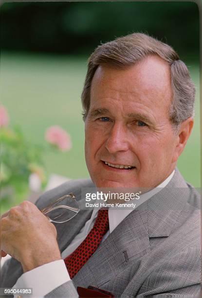 S Vice President George HW Bush circa 1983 in in Washington DC